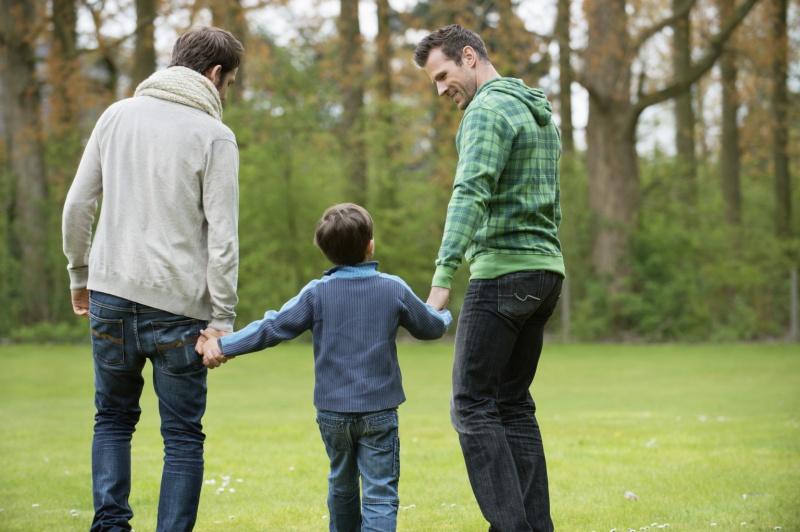 Adopción homosexual