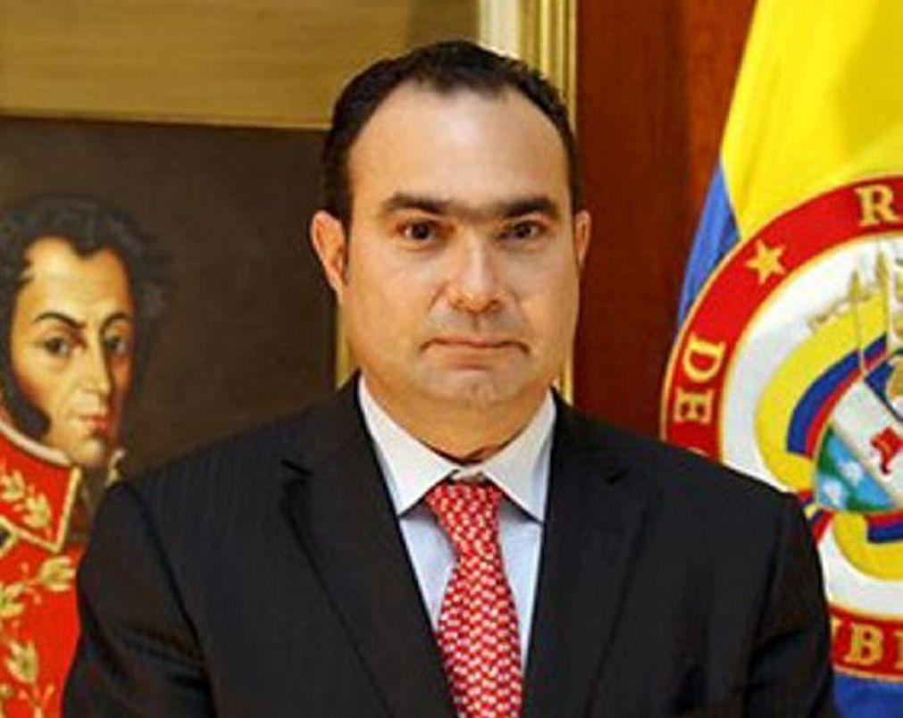 El magistrado del Corte Constitucional, Jorge Pretelt
