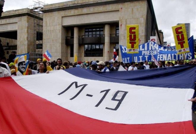 Los guerrilleros del M-19 fueron amnistiados e indultados por el Gobierno Nacional