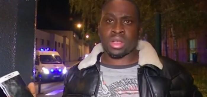 El hombre al que su móvil salvó en París