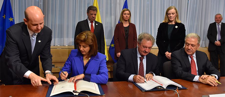 Se eliminan las visas para que los colombianos entren a la mayor parte de la Unión Europea