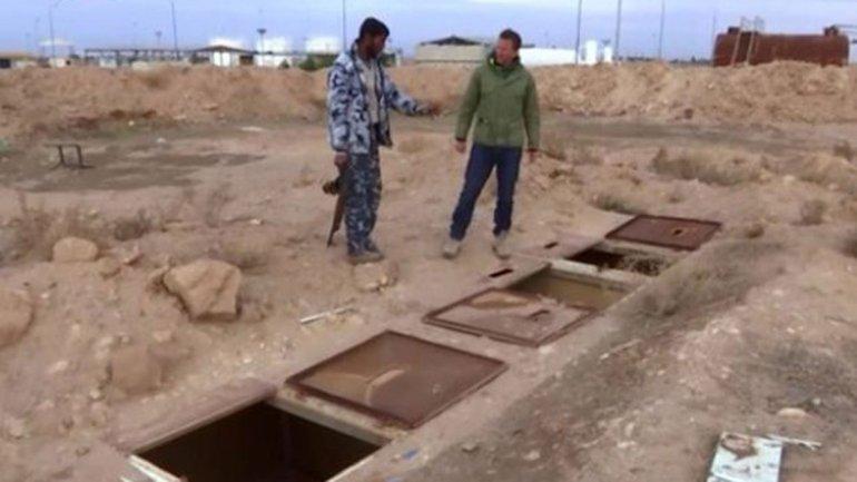 Tumbas Calabozos de ISIS