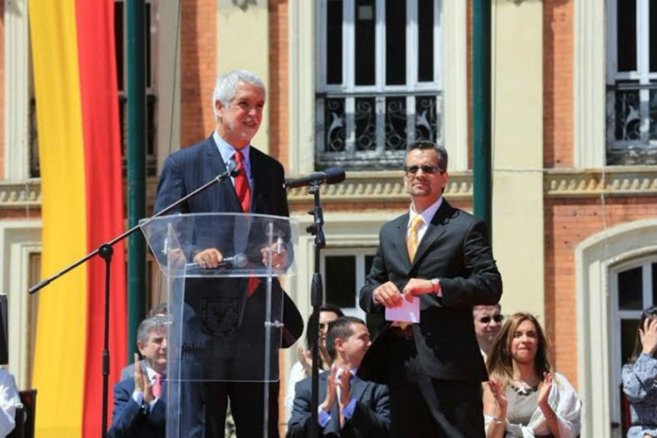 Enrique Peñalosa alcalde de Bogotá
