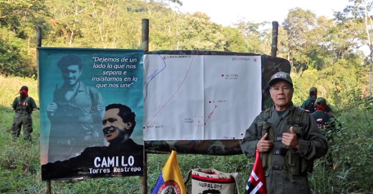 Gabino relata muerte de Camilo Torres