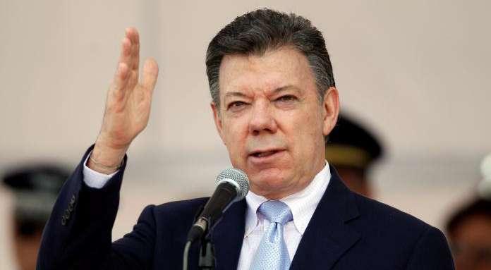 Juan-Manuel-Santos reta a las Farc