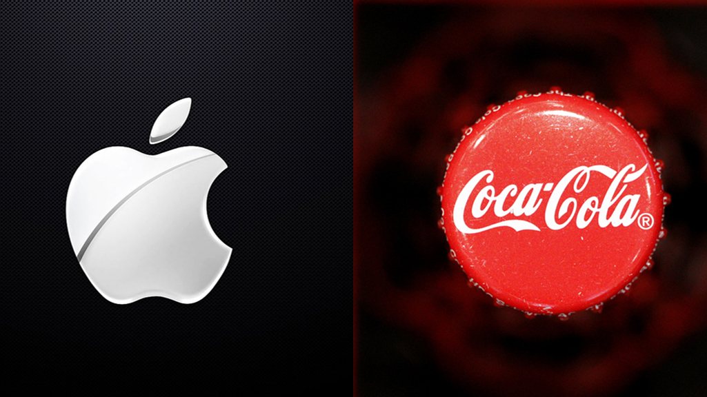 Apple y Coca Cola
