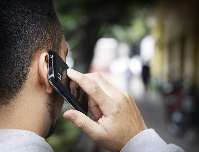 Llamada por celular
