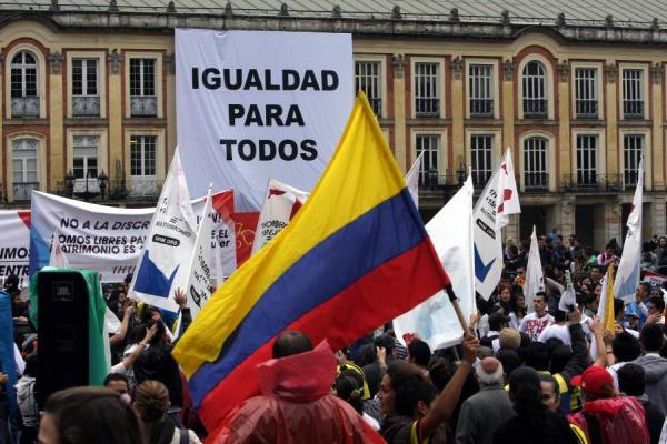 Debate sobre el matrimonio homosexual en colombia