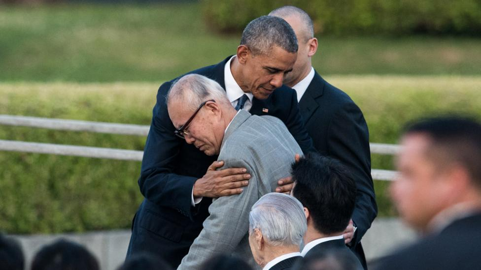 Mori sobreviviente de Hiroshima