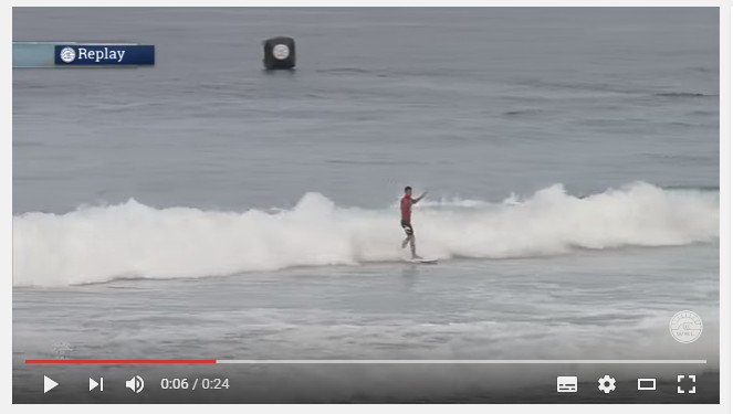 Surfista brasilero