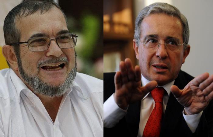 Timochenko y Uribe